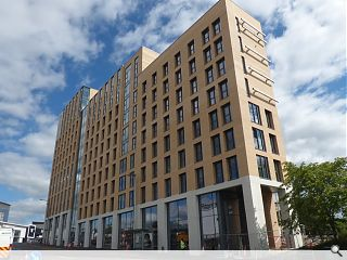 Glasgow student build reaches practical completion