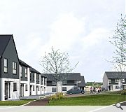 New homes will sit next door to Easterhouse fire station