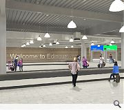 An expanded baggage reclaim area is included in the plans