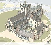 paisley Abbey was founded as a Cluniac Monastery in 1163