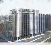 The design shown is a very early indication of what the office complex could look like