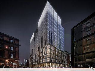 Glasgow's Argyle Street advances with ambitious office vision