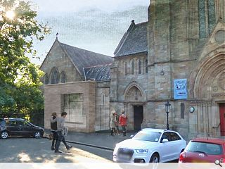 Queens Park Church to welcome courtyard extension