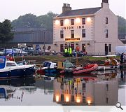 Union Inn on the Union Canal in Falkirk