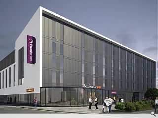 Whitbread author Hamilton Premier Inn plan