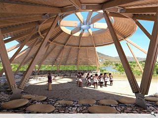 Ryder architecture supports regeneration of South African village through community theatre