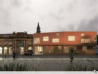 Plans tabled for £5m Briggait Creation Centre