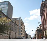 The scheme will restore the building line along Rose Street