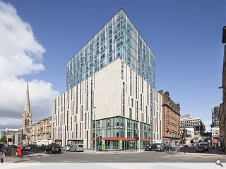 Students make a move on latest Glasgow build
