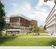 Fingers of accommodation will direct people into the campus