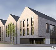 The A-listed main building will be retained as a formal reception space for the school