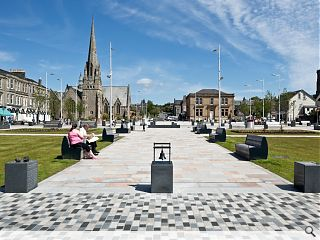 Helensburgh public realm makeover unveiled