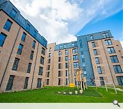 A twin development at St Machar Drive provides 172 flats delivered by Robertson Partnership Homes