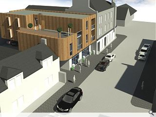 Curvaceous Broughty Ferry homes proposed