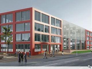 Office boost for Glasgow's east end