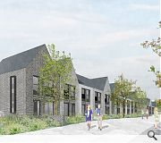 Whitlawburn will replace a mix of post-war homes off Western Road