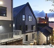 The Raining's Stairs Development, Inverness; Trail Architects for Ark Estates