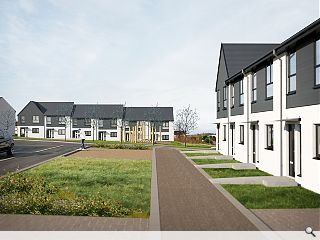 Landscape-led Easterhouse homes to bring brownfield land back to life