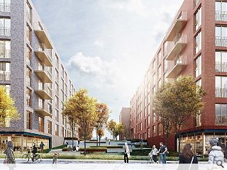 234 Fountainbridge homes secure planning consent