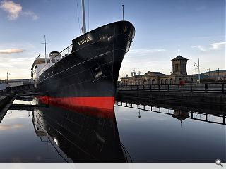 MV Fingal brings five-star glamour to the Port of Leith