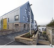 The Raining's Stairs Development, Inverness, Trail Architects for Ark Estates