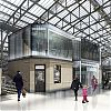 Glass pod signifies £8m Aberdeen Station chrysalis