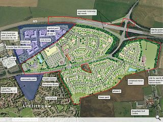 Mixed-use Linlithgow masterplan submitted