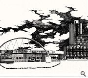 Alan Dunlop will be exhibiting this cross section of the River Clyde