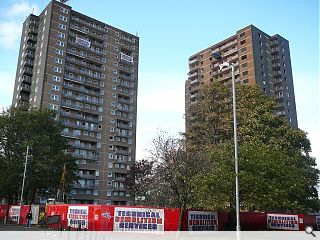Demolition commences on twin Ibrox towers