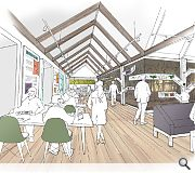 Clatteringshaws Visitor Centre will receive a £0.45m toward large windows fronting Clatteringshaws Loch and Dark Sky Park