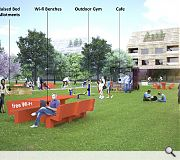 Wi-fi benches pop-up cafes and outdoor gym's could sprout across North Lanarkshire