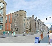 Canongate frontage retained