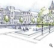 Plans for a civic sq in Perth are proving to be nearly as controversial as those in Aberdeen