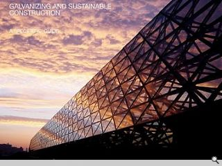 Galvanizing and Sustainable Construction