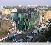 UK projects include the Ideas Store in Whitechapel