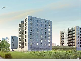 New wave of housing hits Granton Waterfront
