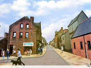 £7.5m Maybole town centre regeneration programme launched