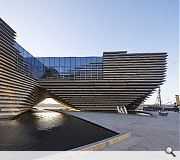 V&A Dundee (£80.1 m) Kengo Kuma & Associates with PiM.studio Architects and James F Stephen Architects for Dundee City Council - photograph by Hufton + Crow