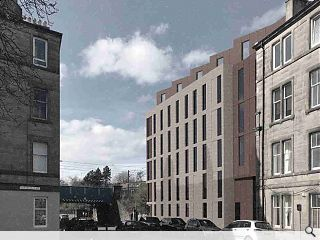 Revised Dalry student accommodation plan brought before planners