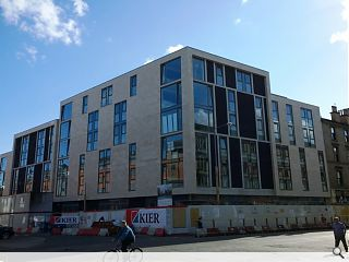 Alumno complete work on Partick student residential build