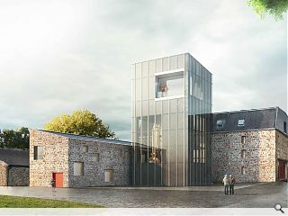 Glenmorangie Distillery still house scales new heights