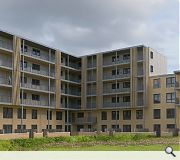 Residents will gain use of a central, secure, courtyard space