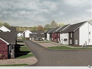 Glenrothes paper mill masterplan breaks ground