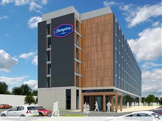 Edinburgh Airport lands Hampton by Hilton hotel