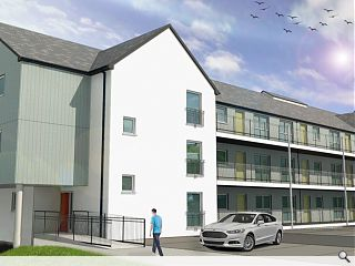 Portree bus garage gives way to affordable homes