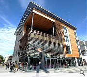 The University of Edinburgh's Noreen & Kenneth Murray Library was named runner up in the new build category