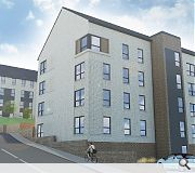 44 homes will be delivered at the former Highlander's Academy at Mount Pleasant Street, Greenock