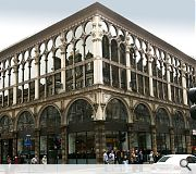 Glasgow's Ca'd'oro Building is another good example of the early use of cast iron architecture