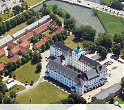 8,250sq/m of exhibition space will be created in and around the picturesque castle