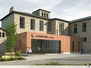 Elderpark Housing Association extend copper theme to new head office